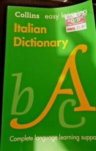 Collins Easy Learning Italian Dictionary (fourth edition)