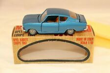 Mebetoys A-13 A13 Opel Kadett coupe very near mint in box all original condition