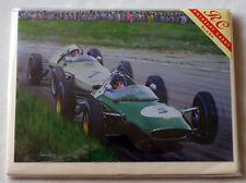 Lotus 24 at Snetterton - Andrew Kitson Greetings card - Blank inside