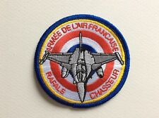D435 // ECUSSON PATCH AUFNAHER TOPPA / NEUF / ARMEE FRANCAISE RAFALE CHASSEUR 8