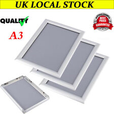 A3 Aluminium Clip Snap Frames Photo Picture Poster Wall Collage Large Waterproof
