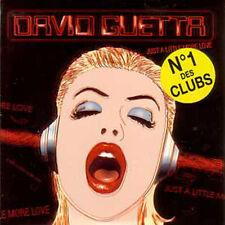 CD Single David GUETTA Just a little more love ++ NEW +