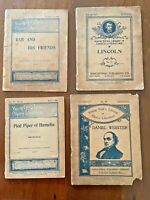 Young Folks Library of Choice Literature, 1895 - 1896, Lot of 4 Volumes