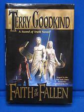 Terry Goodkind Faith of the Fallen A Sword Truth Hardback 1st Edition Novel 6 DJ