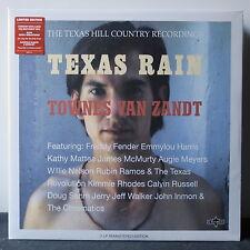 TOWNES VAN ZANDT 'Texas Rain' Ltd. Edition Remastered 180g Vinyl 2LP NEW/SEALED