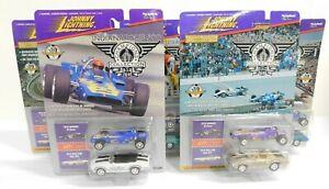 COMPLETE SET 5 Johnny Lightning 1970 Winner Al Unser & Pace Car Olds 442