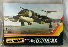 Matchbox Vintage 1983, 1:72 Handley Page Victor K2 Plastic Aircraft Model Kit