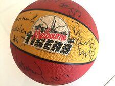 NBL 1993 Melbourne Tigers Team Signed BasketBall