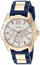 Guess U0325L8 Navy Silicone Strap Women's Watch