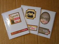 Various Themes Handmade Mini Birthday Cards