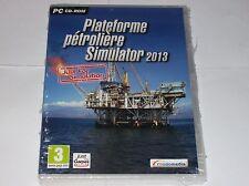 Jeu PC Plateforme Pétrolière Simulator 2013 neuf sous blister