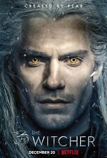 The Witcher poster prints  - 11 x 17 inches - Set of 4 posters