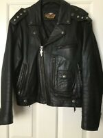"RARE Harley Davidson 1903-1993 ""THE REUNION"" 90th Anniversary Leather XL Jacket"