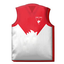 Sydney Swans LARGE AFL JERSEY Guernsey Cushion Pillow Teddy Girls Boys