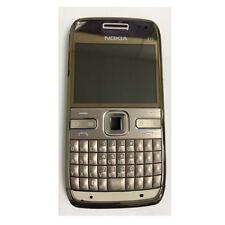 """Cellulare Bluetooth QWERTY Bluetooth originale sbloccato 2,4 """"Nokia E72 5MP Oro"""