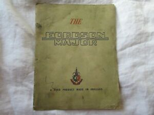 Ford Fordson Major tractor brochure with county full tracks