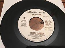 "GOLDEN EARRING 7"" RADAR LOVE 1973 US TRACK RECORDS MONO/STEREO PROMO NM"