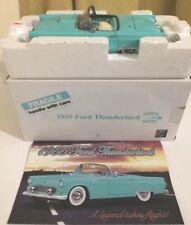 Danbury como nuevo 1955 Ford Thunderbird 1:24 Con Caja Y Folleto