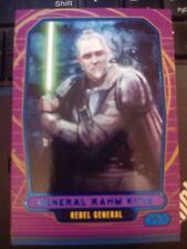Star Wars 2012 Galactic Files 1 #190 General Rahm Kota BLUE 263/350 NrMint-MINT