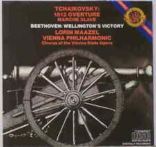 Tchaikovsky: 1812/Marche Slav; Beethoven: Wellington's - Maazel/Vienna Phil - CD