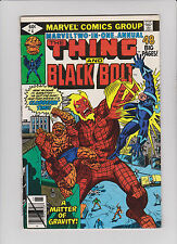 Marvel Two-In-One Annual 4 Black Bolt Inhumans - Rare Key Comic book
