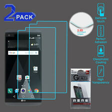 LG V20 Premium Tempered Glass Screen Protector 2.5D Shatter Proof - 2 Pack
