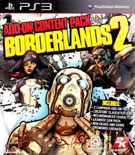 Borderlands 2 Add-On Content Pack ONLY Sony PlayStation 3 PS PS3 B2 ADD ON ADDON