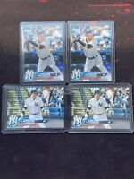 2018 Topps Clint Frazier Rookie Rc Lot X4 Variations Sp New York Yankees