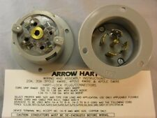 Cooper Arrow Hart CWL2130FI 30A 120/208 3PH 4 Pole 5 Wire Flanged Inlet