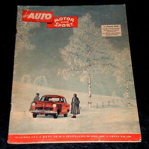Das Auto,AMS 26/52 BMW 501,Modellautos,Fiat 615 N, Lanz Typ A 111 System Porsche