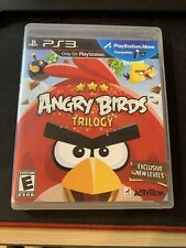 Angry Birds Trilogy (Sony PlayStation 3, 2012) Complete with Manual