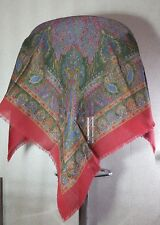 Vintage square shawl / scarf granny style Size M fashion accessories Germany
