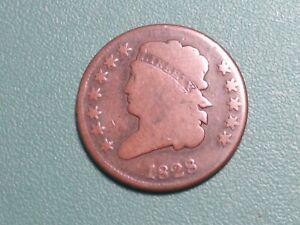 1828 12 STAR Classic Head Half Cent... CHOICE VG..