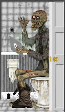 Morris Costume Funny Zombie Wall Walking Dead Prop Decoration Toilet Door Cover