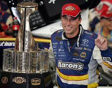 David Reutimann NASCAR Cup Series Race Car Driver with Trophy 8x10 Glossy Photo