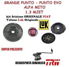 KIT FRIZIONE+VOLANO 4 PEZZI FIAT GRANDE PUNTO 1.3 MULTIJET 90 CV ORIGINALE FIAT