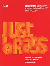 John Iveson Christmas Crackers Just Brass No.43 Sheet Music Book