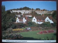POSTCARD BRISTOL PORTISHEAD - THE ROSE GARDEN - LAKE GROUND