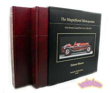 MONOPOSTO BOOK ALFA ROMEO SIMON MOORE ENZO FERRARI RACE CARS SINGLE SEATER IMMOR