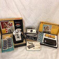 New ListingVintage Cameras Kodak Brownie Starflash Outfit Trimlite Instamatic 18 and 104