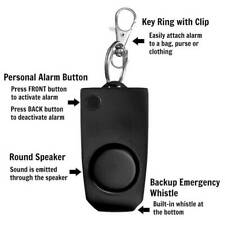 Personal Security Anti-rape Device Alarm Loud Alert Attack Panic Keychain TOP