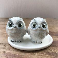 White Owl Ceramic Salt and Pepper Shaker Animal Salt & Pepper Shakers Decorative