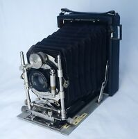 Bausch & Lomb UNICUM Voigtlander Collinear III 120mm Lens Antique Folding Camera