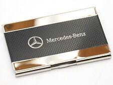 Mercedes Logo Business Card Case (Carbon Fiber look) cardcase holder wallet
