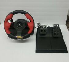 Logitech Wingman Formula Force GP Force Feedback Lenkrad Pedale USB