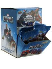 2016 Upper Deck Captain America Civil War Trading Cards 24 Packs Counter Display