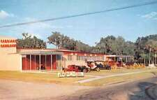 Silver Springs Florida Carriage Cavalcade Street View Vintage Postcard K64623