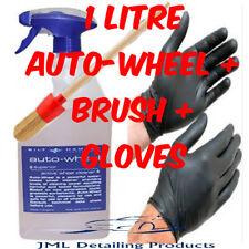 BILT HAMBER AUTO-WHEEL ALLOY CAR WHEEL CLEANER 1 LITRE NON ACIDIC IRON + BRUSH
