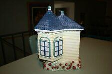Cracker Barrel 1998 Victorian House Shape Canister Cookie Jar
