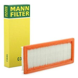 Mann Air Filter fits Ds DS 4 / DS 4 CROSSBACK NX_ 1.6 THP 165